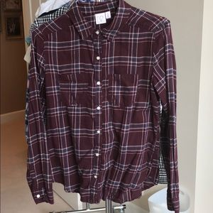 Nordstroms longsleeved button up cotton shirt